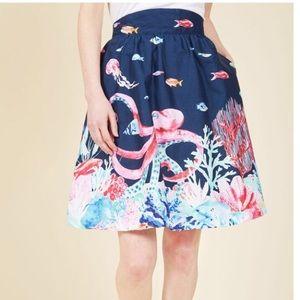 Marine Bio skirt by ModCloth